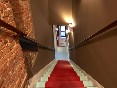 31 Main St-Loft 306 entrance stairs